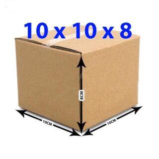 Hộp giấy carton 10x10x8 (3 lớp)