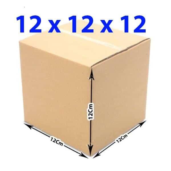 Hộp giấy carton 12x12x12 (3 lớp)