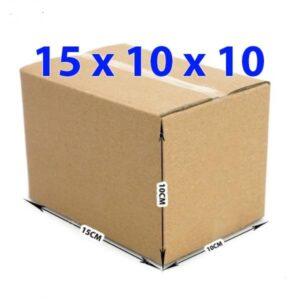 Hộp giấy carton 15x10x10 (3 lớp)