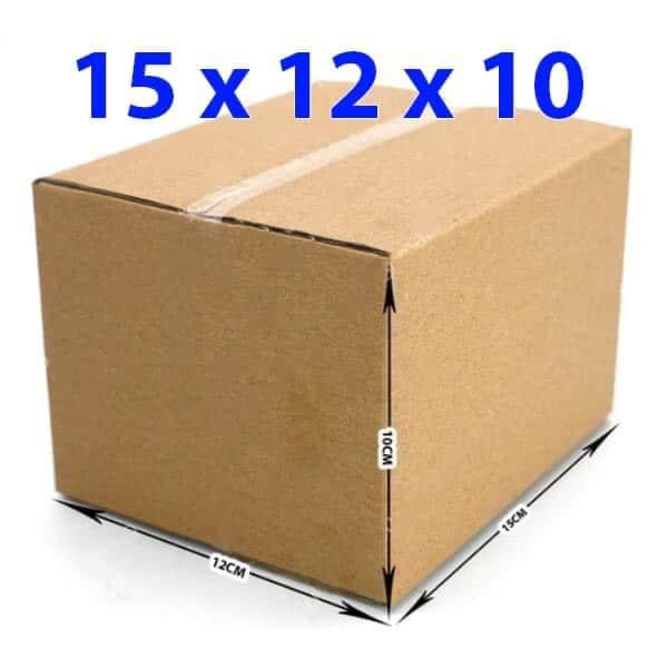 Hộp giấy carton 15x12x10 (3 lớp)