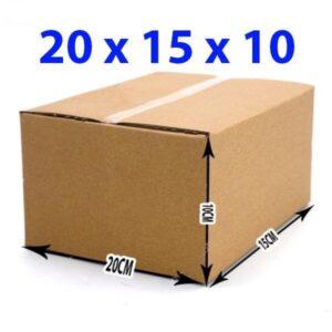 Hộp giấy carton 20x15x10 (3 lớp)