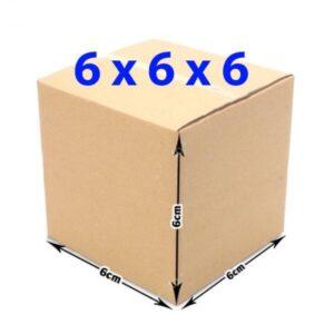 Hộp giấy carton 6x6x6 (3 lớp)