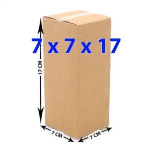 Hộp giấy carton 7x7x17 (3 lớp)