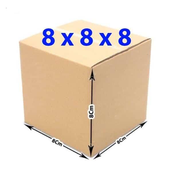 Hộp giấy carton 8x8x8 (3 lớp)