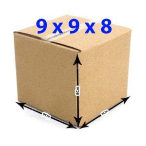 hop giay carton 9x9x8 300x300 - Hộp giấy carton 11x11x12 (3 lớp)