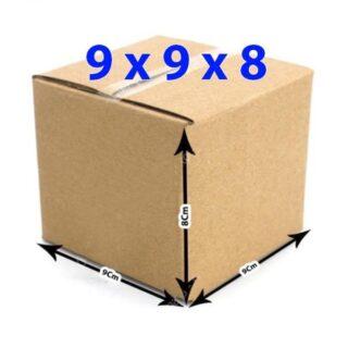 Hộp giấy carton 9x9x8 (3 lớp)