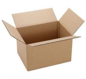 thung giay carton 300x276 - Thùng giấy carton đựng quần áo(KT:60x40x40)-(SL:1 Thùng)