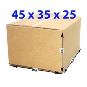 Thùng giấy carton 45x35x25 (5 lớp)