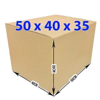 Thùng giấy carton 50x40x35 (5 lớp)