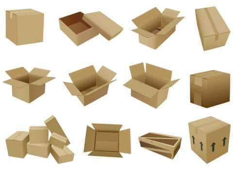 Mẫu thùng giấy carton