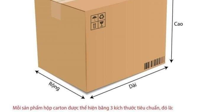 Cách đo kích thước thùng carton chuẩn để đặt làm thùng carton