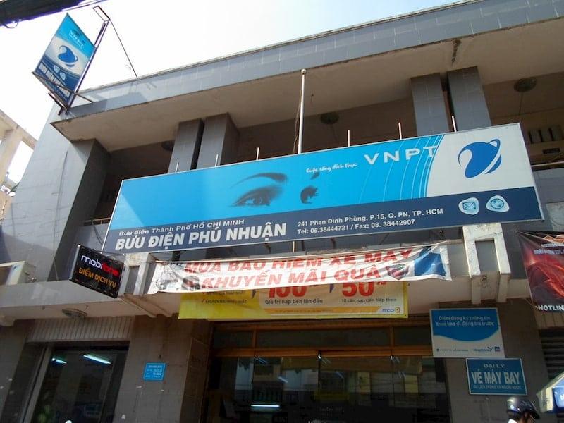 Địa chỉ bưu điện, danh sách bưu cục-EMS-VNPOST Quận Phú Nhuận TPHCM