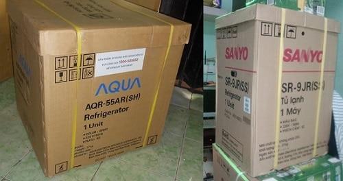 Thùng giấy carton đựng tủ lạnh, tủ đông, tủ mát