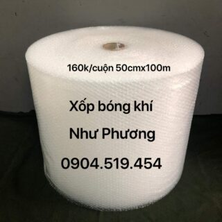 Xốp Bong Bóng Khí 50cm x 100m