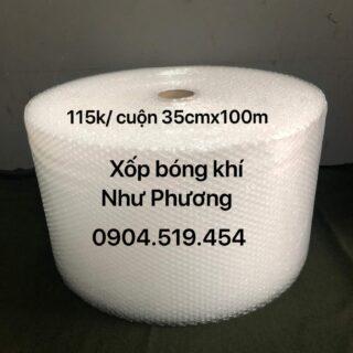 Xốp Hơi Bong Bóng 35cm x 100m