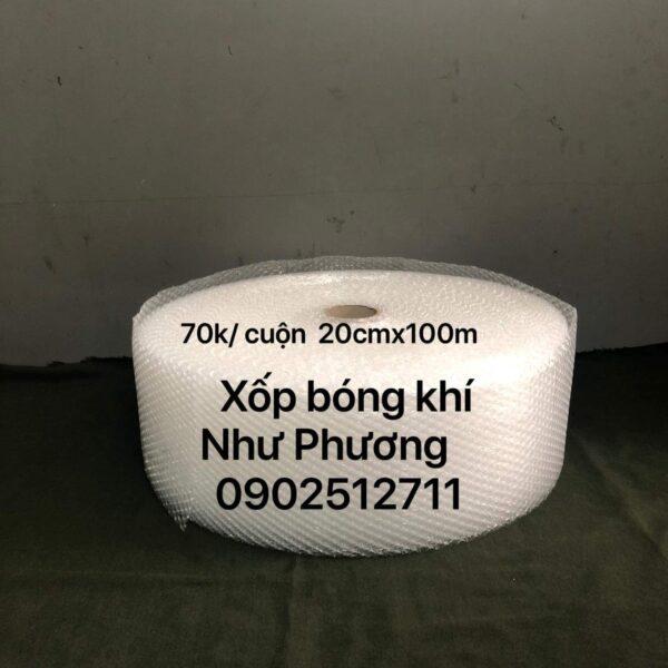 Xốp Hơi Bong Bóng 20cm x 100m